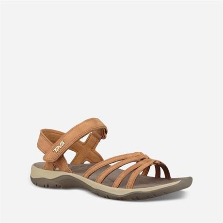 Teva Sandals Women's Elzada Leather Pecan