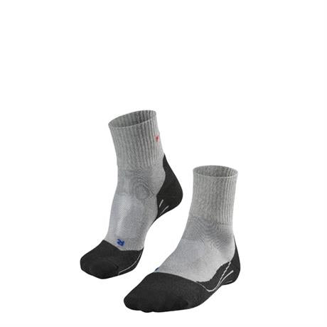 Falke HIKING Socks Men's TK2 Cool Short Light Grey