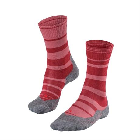 Falke HIKING Socks Women's TK5 Stripe Mixed Berry