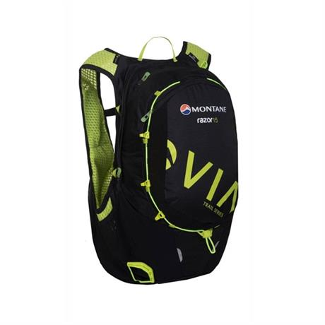 Montane Pack Via Razor 15 Rucksack Black/Laser Green