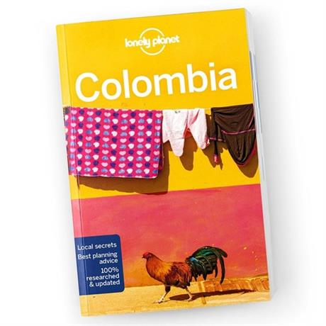 Lonely Planet Travel Guide Book: Colombia (8th Edition)