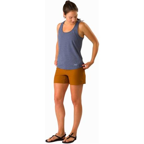 "Arc'teryx Shorts Women's Creston 4.5"" Iolite Blue"