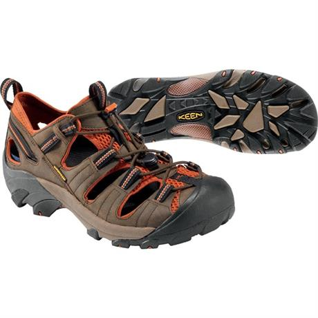 Keen Sandals Men's Arroyo II Black Olive/Bombay Brown