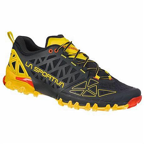 La Sportiva Shoes Men's Bushido II Black/Yellow