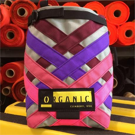 Organic Climbing Chalk Bag Lunch Bag Bucket (assorted colours)