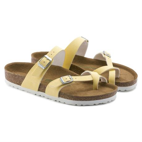 Birkenstock Sandals Women's Mayari Regular Brushed Vanilla