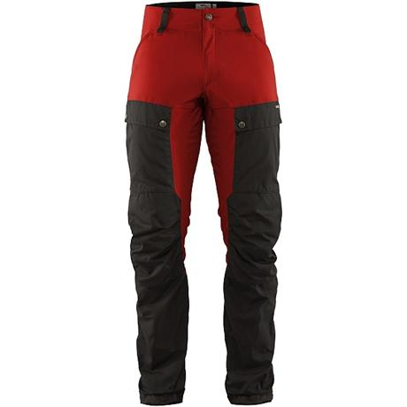 Fjall Raven Pants Men's Keb REGULAR Leg Trousers Stone Grey/Lava