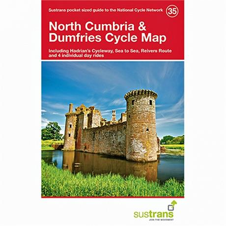 Sustrans Cycle Map: North Cumbria & Dumfries 35