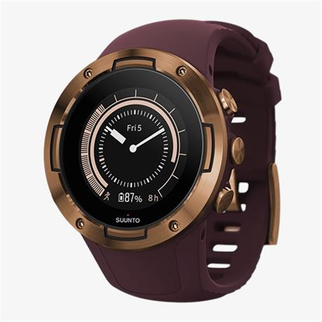 Suunto GPS Watch 5 Burgundy Copper