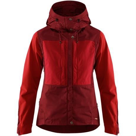 Fjall Raven SOFTSHELL Jacket Women's Keb Ox Red/Lava