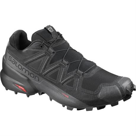 Salomon Shoes Men's Speedcross 5 Wide Black/Phantom