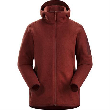 Arc'teryx FLEECE Jacket Women's Covert Hoody Redox Heather