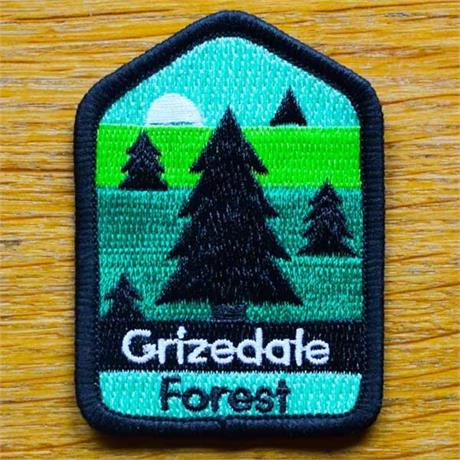 Conquer Lake District Patch - Grizedale Forest