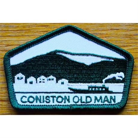 Conquer Lake District Patch - Coniston Old Man