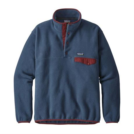 Patagonia FLEECE Top Men's LW Synchilla Snap-T Pullover Stone Blue