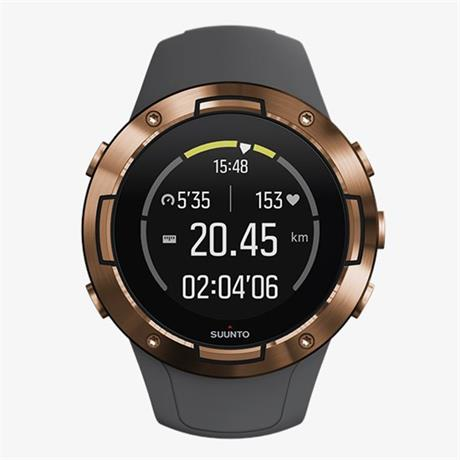 Suunto GPS Watch 5 Graphite Copper Kav