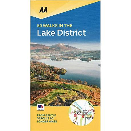 AA Walking Guide Book: 50 Walks in the Lake District