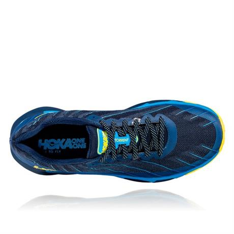 Hoka Running Shoes Men's Torrent Moonlit Ocean/Dresden Blue