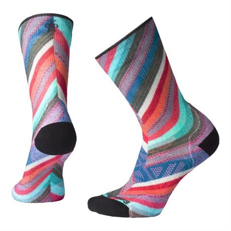 Smartwool HIKING Socks Women's PhD Outdoor Light Print Crew Deep Marlin