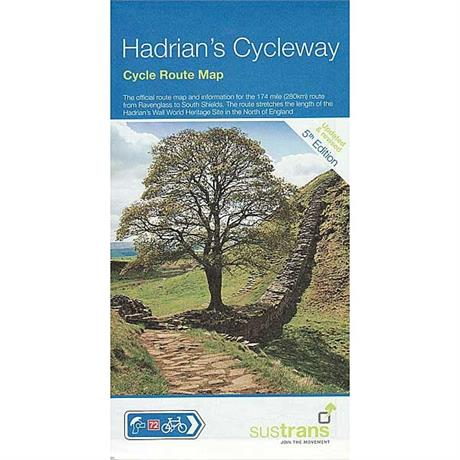 Sustrans Cycle Route Map : Hadrian's Cycleway