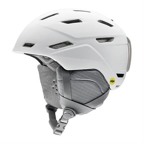 Smith Ski Helmet Women's Mirage MIPS 7BK Matte White