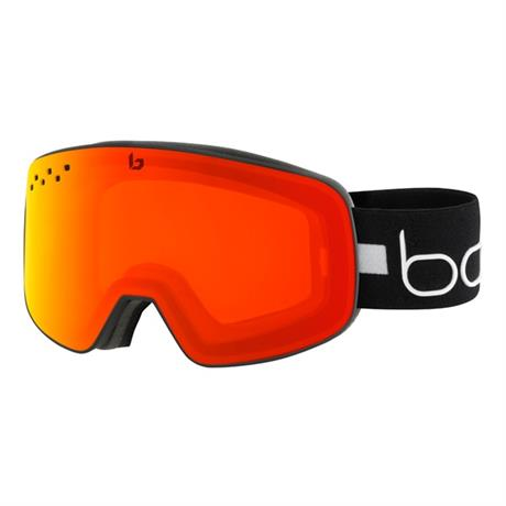 Bolle Ski Goggles Nevada Matte Black Line Photochromic Cat 1-3