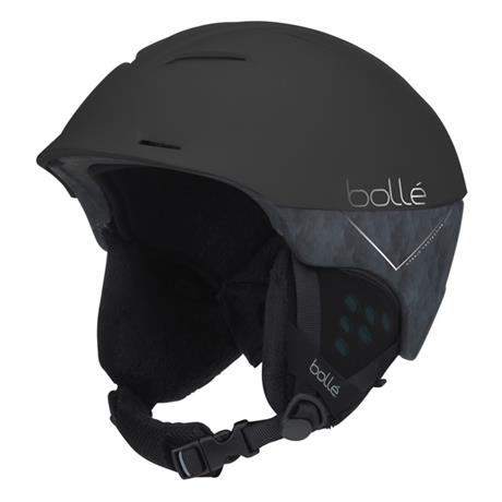 Bolle Ski Helmet Synergy Matt Black Forest