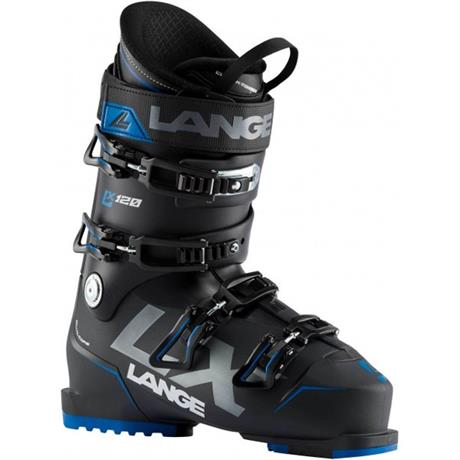 Lange Ski Boot Men's LX120 LBI6000 Black Deep Blue