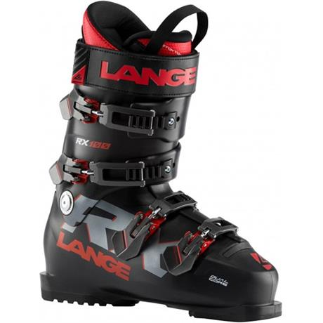 Lange Ski Boots Men's RX100 LBI2100 Black Red