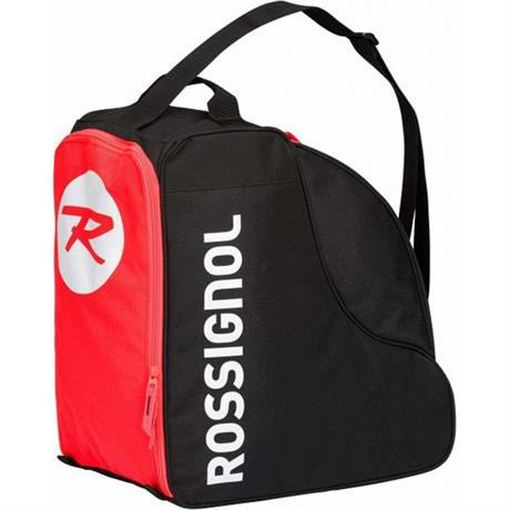 Rossignol Ski Luggage Boot Bag Tactic Black Red