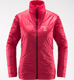 Haglofs Women's L.I.M Barrier Jacket- Hibiscus Red