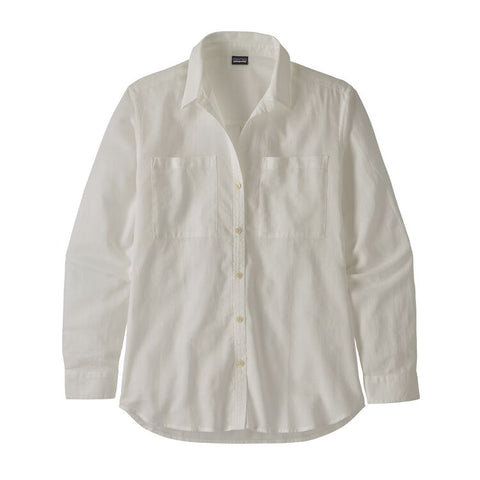 Patagonia Women's Lightweight A/C Buttondown- White