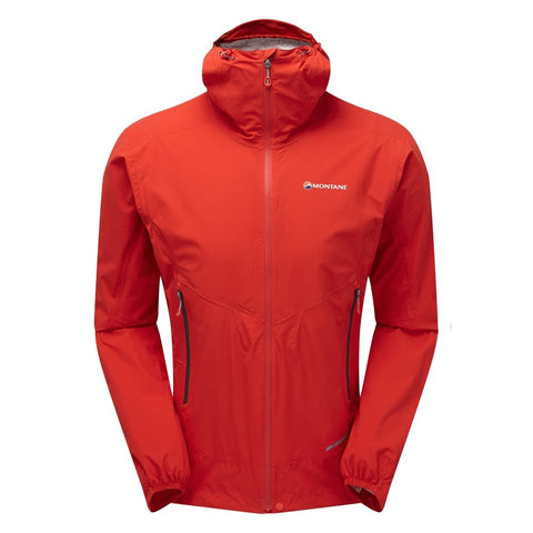 Men's Montane Minimus Stretch Ultra Waterproof Jacket- Red