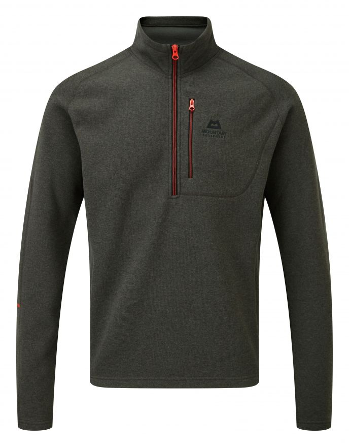 Men's Mountain Equipment Kore Zip T - Grey