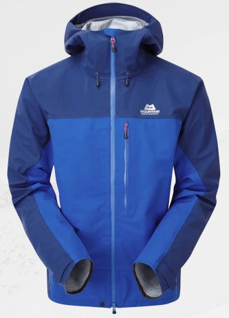 Men's Mountain Equipment Makalu Waterproof Jacket - Blue