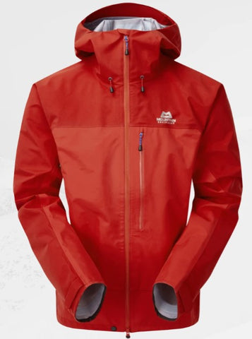 Men's Mountain Equipment Makalu Waterproof Jacket - Red