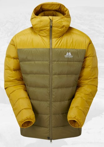 Men's Skyline Mountain Equipment Hooded Jacket - Yellow