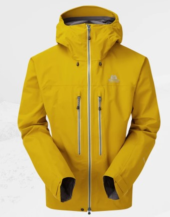 Men's Mountain Equipment Tupilak Waterproof Jacket - Yellow