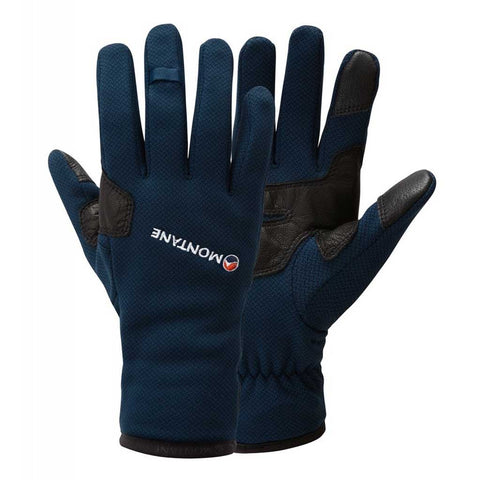 Montane Gloves Men's Iridium Narwhal Blue