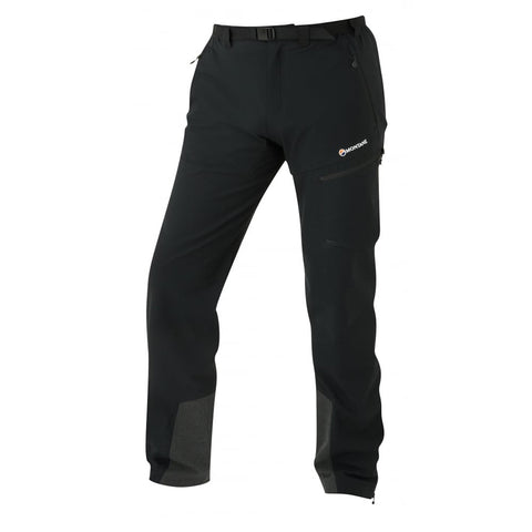 Montane SOFTSHELL Pants Men's Skyline Trousers Black