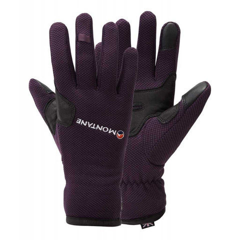 Montane Gloves Women's Iridium Saskatoon Berry