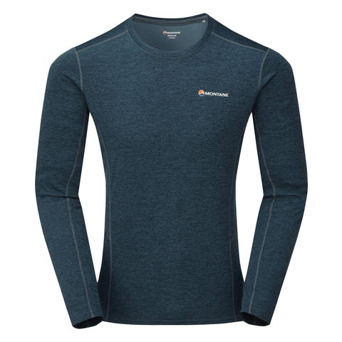 Men's Montane Dart LS T-Shirt - Blue