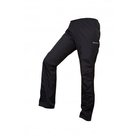 Women's Montane Dynamo Waterproof Pants Reg - Black