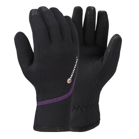 Women's Montane Powerstretch Pro Glove - Black