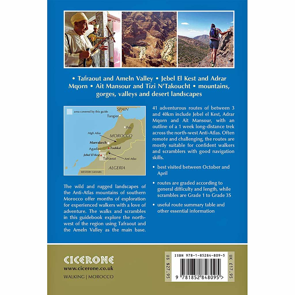 Cicerone Guide Book: Walks and Scrambles in the Moroccan Anti-Atlas
