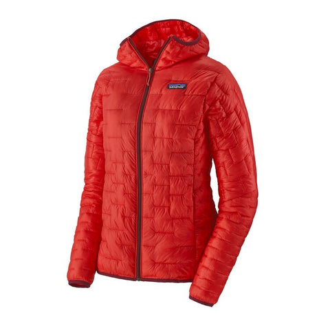 Patagonia Women's Micro Puff Hoody- Catalan Coral