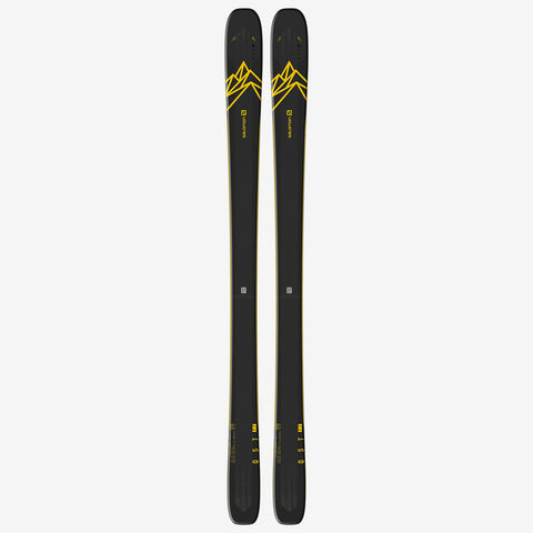 Salomon Skis QST 92 Dark Blue/Yellow
