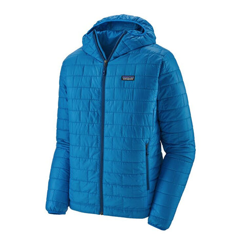 Patagonia Men's Nano Puff Hoody- Andes Blue