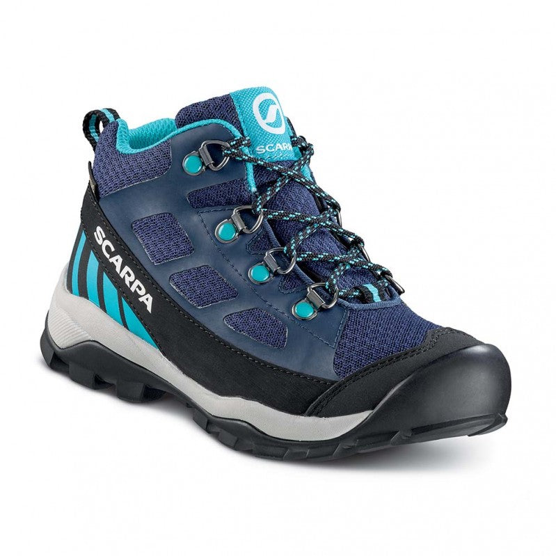 Kids' Scarpa Neutron Kids Mid GTX Boots - Blue