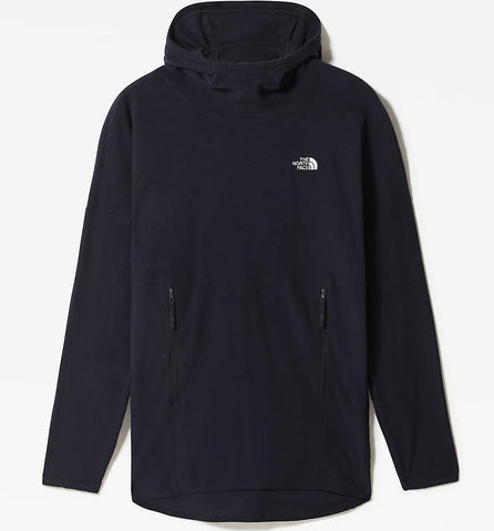 Women's North Face TKA Glacier Long Hoodie - Navy
